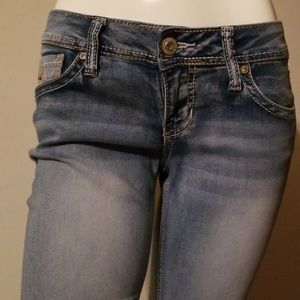 Hydraulic Boot Cut Jeans Size 7/8